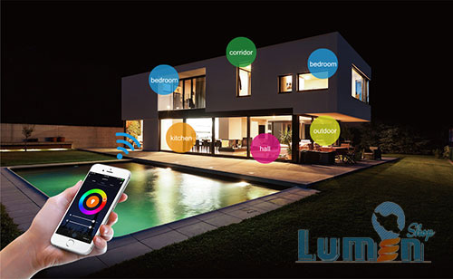 روشنایی هوشمند در خانه هوشمند