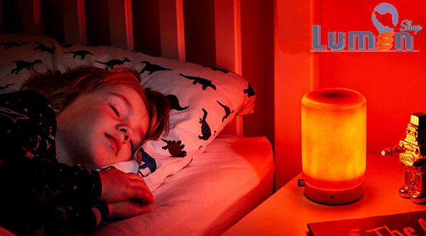 نور قرمز برای خواب