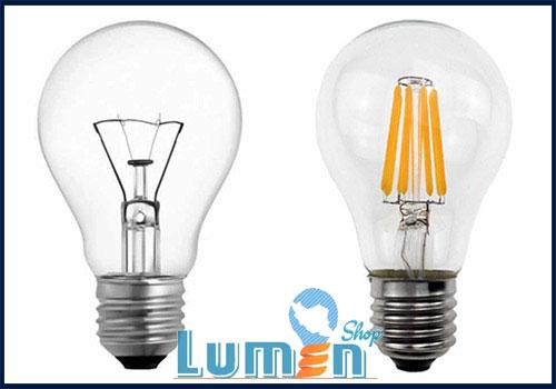 مقایسه لامپ فیلامنتی و رشتهای