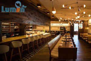 روشنایی LED رستوران