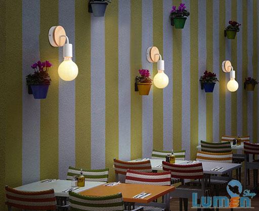 نورپردازی تأکیدی در رستوران