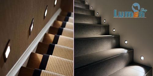 نور راه پله هتل
