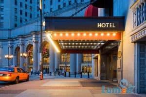 نورپردازی هتل