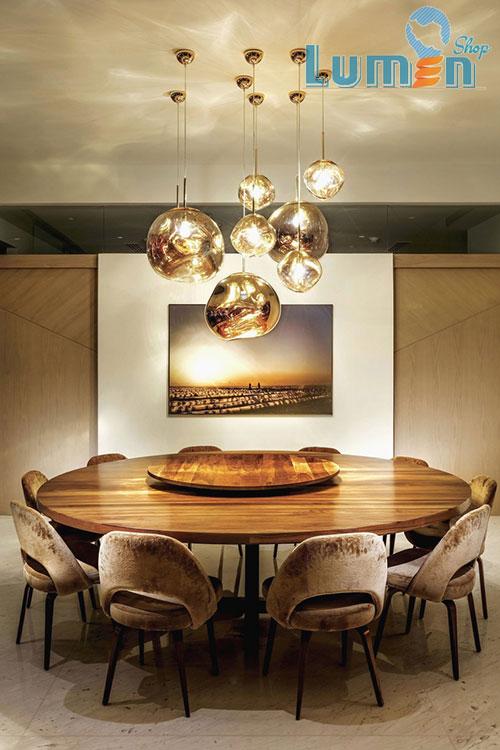 نورپردازی اتاق غذاخوری